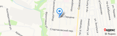 Детский сад №228 на карте Ижевска