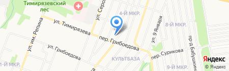 У Искандера на карте Ижевска