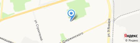 Берег на карте Ижевска