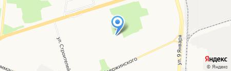 Детский сад №33 на карте Ижевска