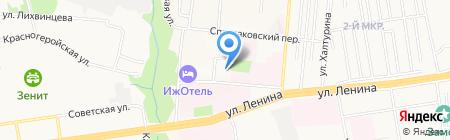 Инвестиционная Промышленная Компания ООО компания по производству манифольдов на карте Ижевска