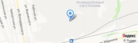 Химстройсервис на карте Ижевска