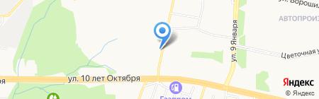 Участковый пункт полиции №31 на карте Ижевска
