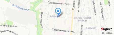 Участковый пункт полиции №33 на карте Ижевска
