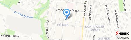 Кама-Стройсервис на карте Ижевска