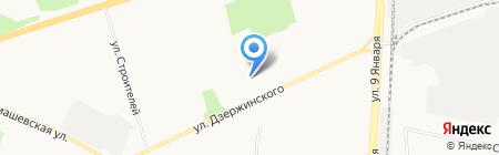 Слог на карте Ижевска