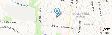 Детский сад №265 на карте Ижевска