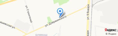 Быстроденьги на карте Ижевска