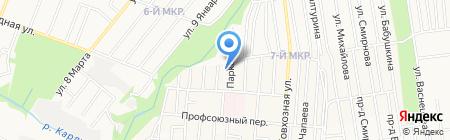 Станция юных техников Индустриального района на карте Ижевска