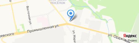 GEOWorking на карте Ижевска
