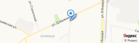 Кольцо на карте Ижевска