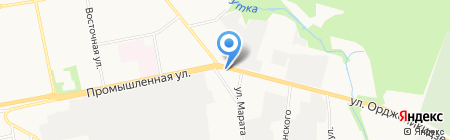 Пункт продажи и пополнения транспортных электронных карт на карте Ижевска