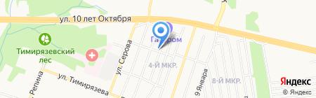 Скорая психологическая помощь на карте Ижевска