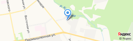 АнТера на карте Ижевска