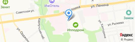 УДМ-Авто на карте Ижевска