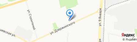 ЖРП №8 на карте Ижевска