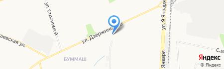 Соблазн на карте Ижевска