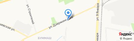 Для милых дам на карте Ижевска