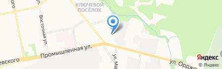 АНТИвор на карте Ижевска