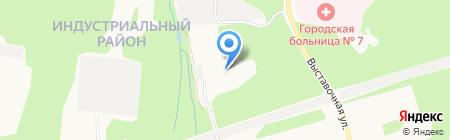 Центр строительных технологий на карте Ижевска