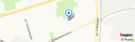 Криотехника на карте Ижевска