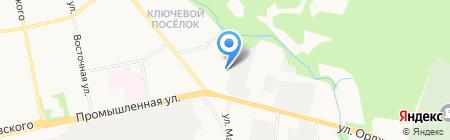 Проектно-строительный комплекс на карте Ижевска