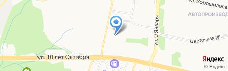 МФК на карте Ижевска