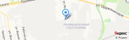 Русавто на карте Ижевска