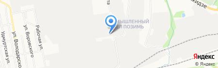 ДеАвто на карте Ижевска