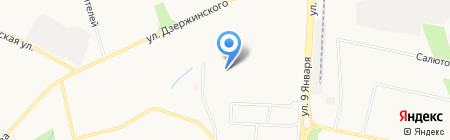 Taia на карте Ижевска