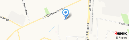Модуль на карте Ижевска