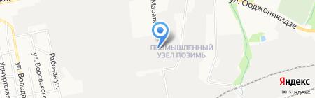 КамаНефтеПродукт на карте Ижевска
