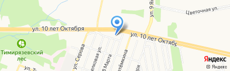 Строительные материалы и работы на карте Ижевска