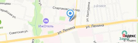 Республиканский клинико-диагностический центр Министерства здравоохранения Удмуртской Республики на карте Ижевска