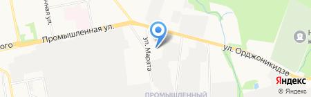 Горсвет на карте Ижевска