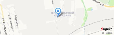 Арбен-18 на карте Ижевска