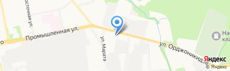 Спецэлектромонтаж на карте Ижевска