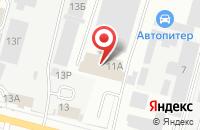 Схема проезда до компании АРТОКС плюс в Ижевске