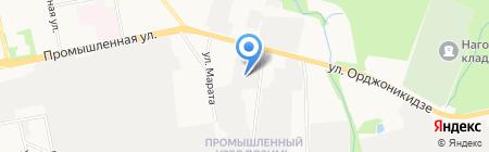 Техкрим на карте Ижевска