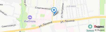 Бальзам на карте Ижевска