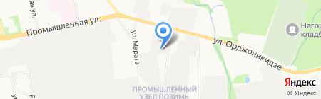Хольстер на карте Ижевска