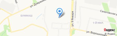 Эдем на карте Ижевска