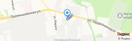Удмуртгазстрой на карте Ижевска