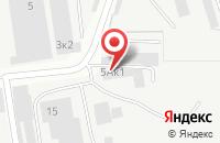 Схема проезда до компании Каскад в Ижевске