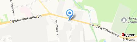 Бином-Авто на карте Ижевска