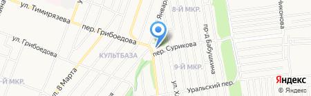Навигатор на карте Ижевска