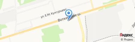 РеВанна на карте Ижевска