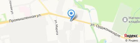 Мт Авто на карте Ижевска