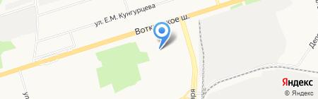 Теремок на карте Ижевска
