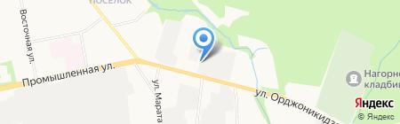 ЛиС на карте Ижевска
